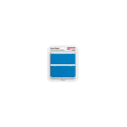 New 3DS Cover Plate niebieski