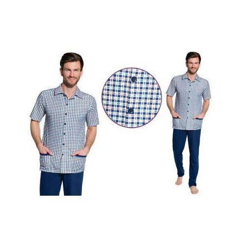 Piżama męska GRACJAN: niebieski
