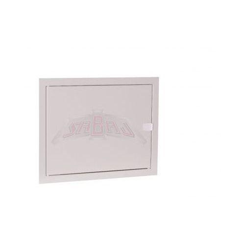 Sabaj-system sp. z o.o. Drzwiczki rewizyjne metalowe 40x20 cm białe z zatrzaskiem rd-4020