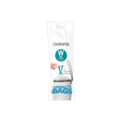 Worki na śmieci W 5l Perfectfit Bags extra strong Brabantia 20 szt (8710755116681)