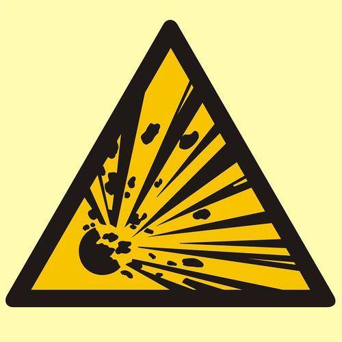 Niebezpieczeństwo wybuchu - materiały wybuchowe