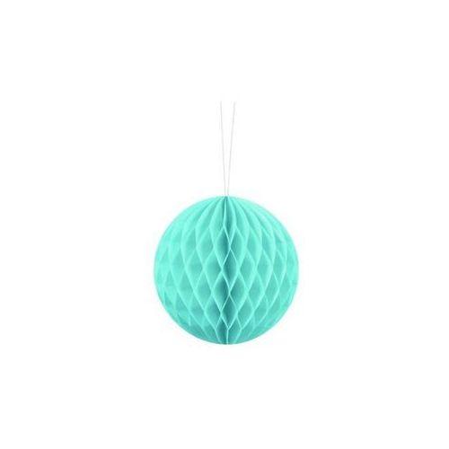 Dekoracja wisząca kula błękitna - 10 cm - 1 szt. marki Party deco