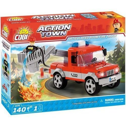 ACTION TOWN 140 elementów Ciężarówka straży pożarnej