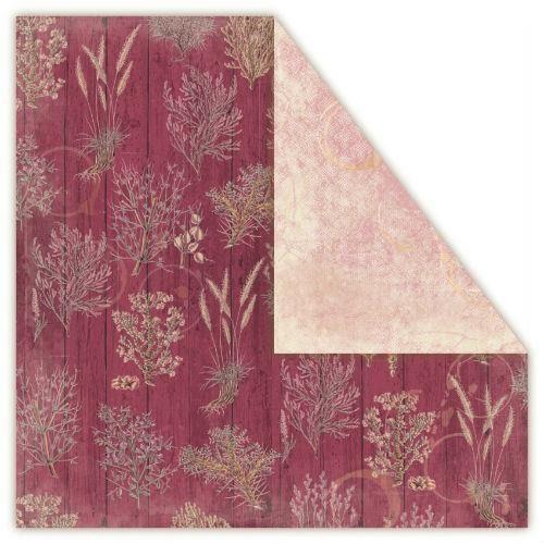 Ozdobny papier loft herbs 30,5x30,5 cm - saffron - safn marki Creativehobby