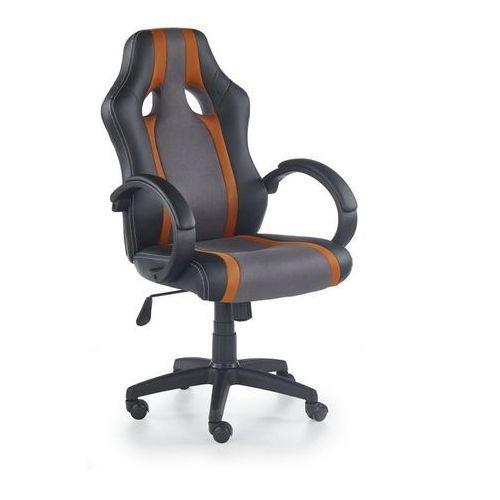 Fotel dla gracza, gamingowy radix pomarańczowy marki Halmar