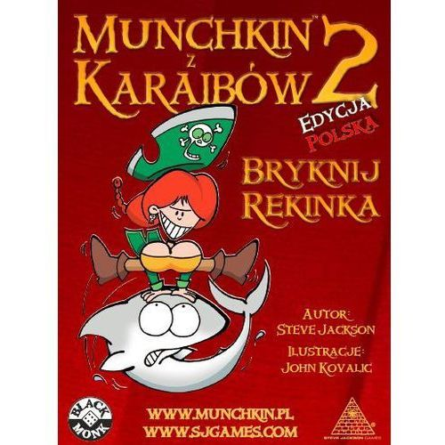 Black monk Munchkin z karaibów 2 - bryknij rekina