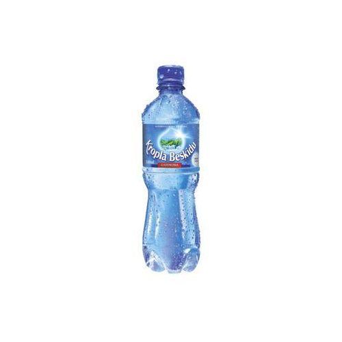 Woda KROPLA BESKIDU gazowana 0,5l 12szt. z kategorii Napoje, wody, soki
