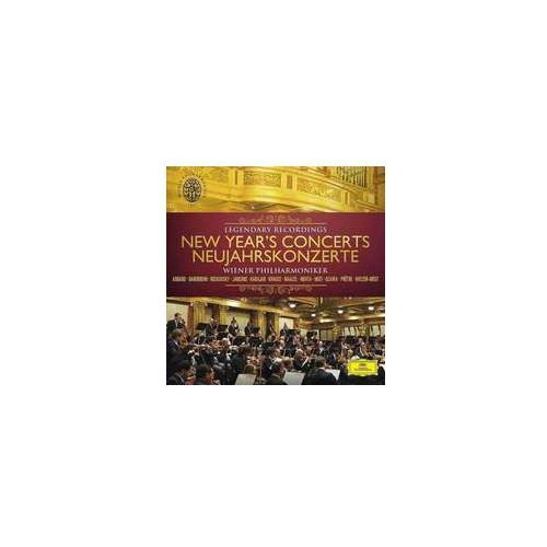 Wiener Philharmoniker - NEW YEAR'S CONCERTS LEGENDARY RECORDINGS, kup u jednego z partnerów