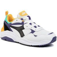 Sneakersy - whizz run 501.174340 01 c8019 white/black/mulberry purp marki Diadora