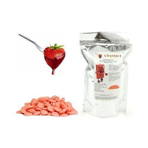 Callebaut Czekolada truskawkowa belgijska do fondue oraz fontann   1 kg