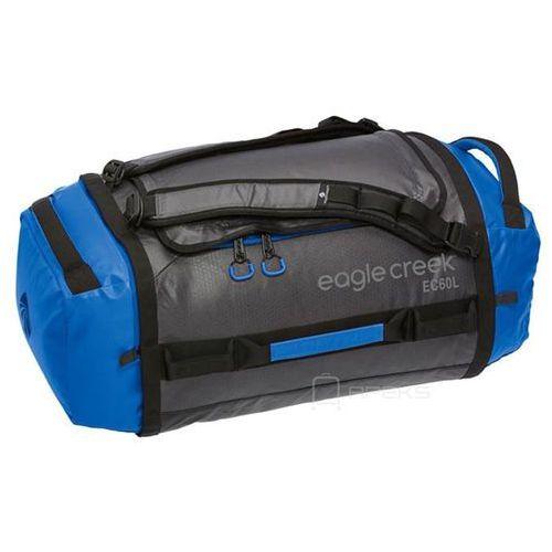 Eagle Creek Cargo Hauler Duffel 60L torba podróżna składana 67 cm / plecak / Blue / Asphalt - Blue / Asphalt