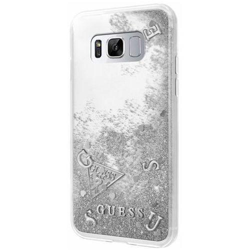 Guess GUHCS8GLUFLSI Samsung Galaxy S8 (srebrny) - produkt w magazynie - szybka wysyłka!, kolor Guess
