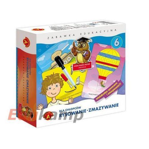 Alexander  rysowanie - zmazywanie 6 dla chłopców (5906018007428)