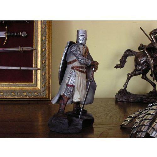 Przepiękna figurka rycerz - templariusz (ag524.01) marki Włochy