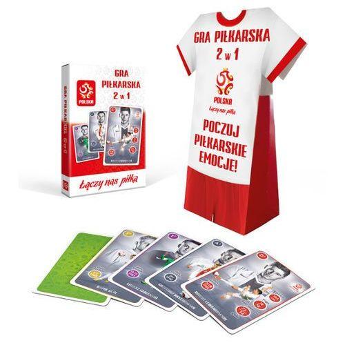 Cartamundi Gra piłkarska 2w1 pzpn (koszulka)