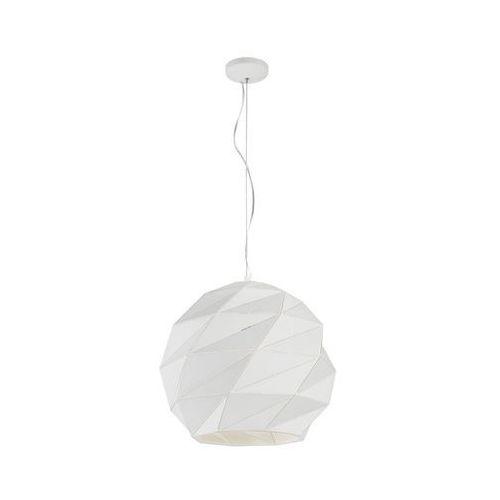 Lampa wisząca reus biała e27 marki Light prestige