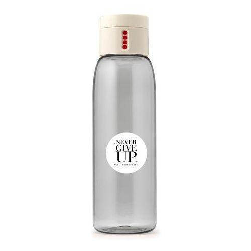 Butelka na wodę Healthy Plan by Ann DOT Never II kremowa 0.6l