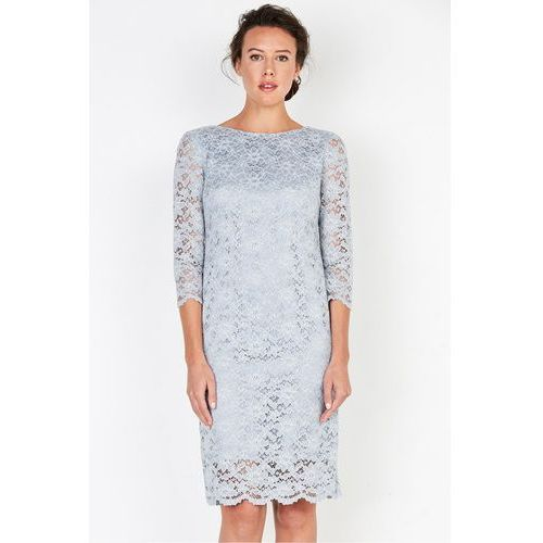 Szara sukienka z koronki - marki Patrizia aryton