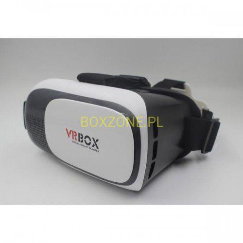 """Wirtualna rzeczywistość, gogle, VR BOX 2.0, 3.5-6.0"""", białe, regulowane soczewki"""