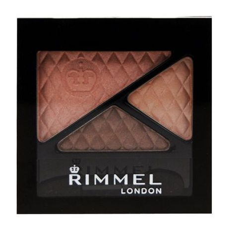 Rimmel London Glam Eyes Trio Eye Shadow 4,2g W Cień do powiek 750 Tempting