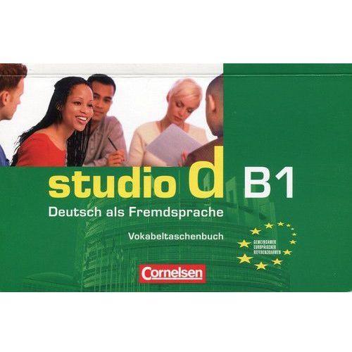 Studio d B1 zeszyt słówek (opr. miękka)