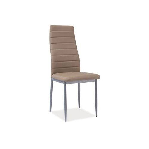 Krzesło H-261 Bis Alu Ciemny Beż, kolor beżowy