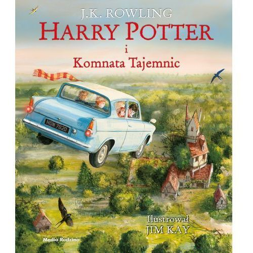 Harry Potter i komnata tajemnic (272 str.)