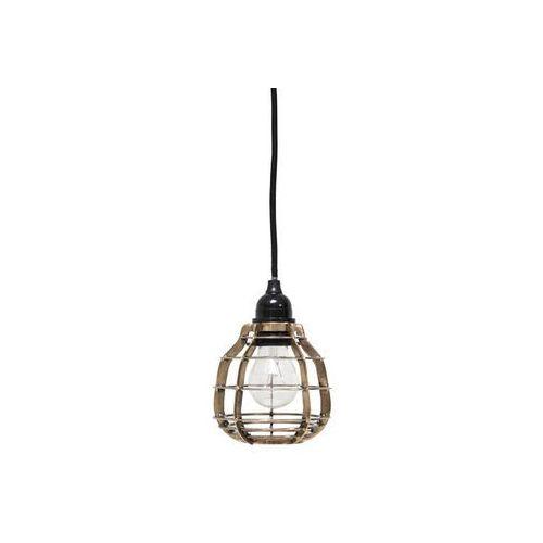 :: lampa lab mosiężna z włącznikiem - mosiężny marki Hk living