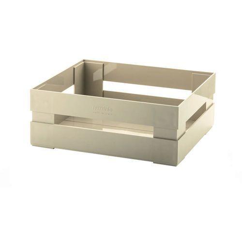 Guzzini - tidy & store - skrzynka kitchen active design duża, brązowy - beżowy (8008392295709)