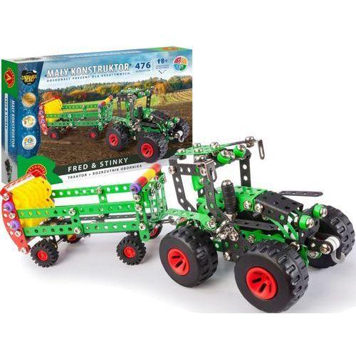 Alexander Mały konstruktor fred & stinky traktor + rozrzutnik obornika (5906018019339)