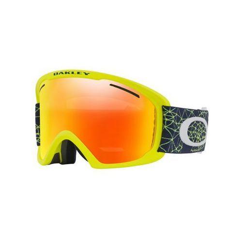 gogle snowboardowe OAKLEY - O Frame 2.0 Xl Galaxy Blue Laser W/Fire (37) rozmiar: OS