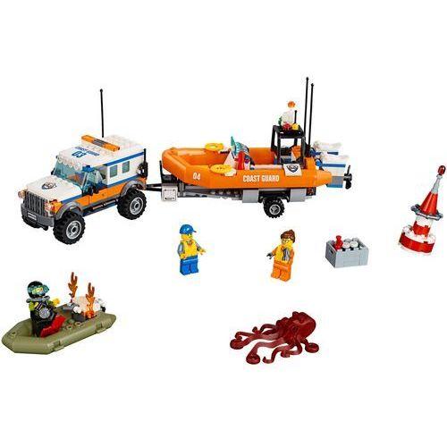 Lego CITY Terenówka szybkiego reagowania 4x4 response unit 60165