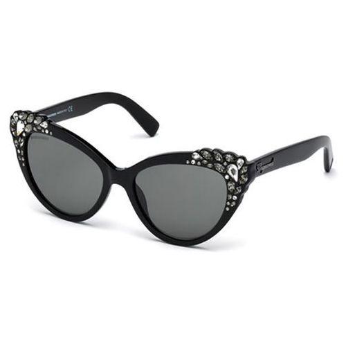Okulary słoneczne dq0168/s elizabeth 05a marki Dsquared2