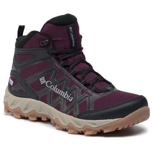 Trekkingi - peafreak x2 mid outdry bl0828 black cherry/columbia grey 639 marki Columbia