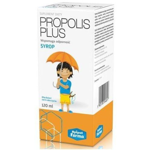 Propolis plus syrop 120ml marki Apipol-farma