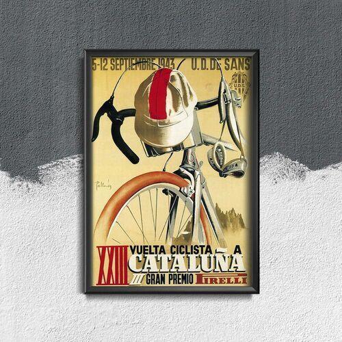Plakat w stylu vintage Plakat w stylu vintage Plakat Kolarstwo Cleveland