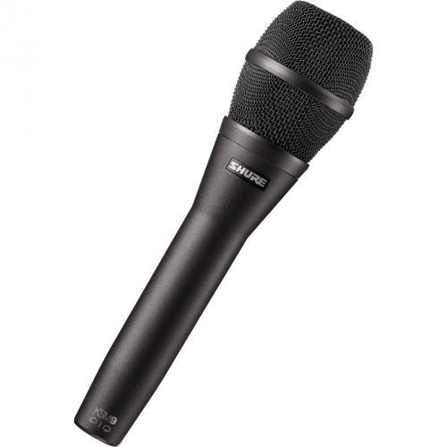 ksm9hs/cg mikrofon pojemnościowy, kolor czarny marki Shure