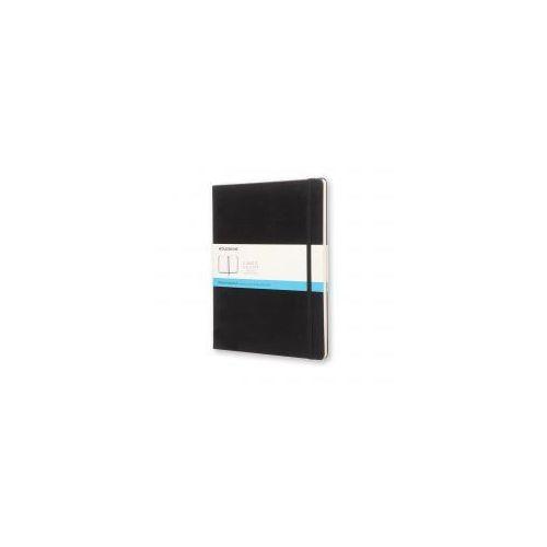 Moleskine Notes xl czarny kropki w twardej oprawie 19x25cm (moqp093)