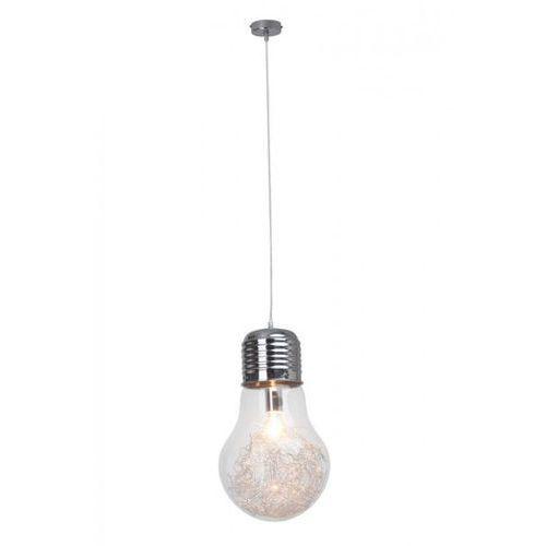 Brilliant Bulb lampa wisząca Chrom, 1-punktowy - Nowoczesny - Obszar wewnętrzny - Bulb - Czas dostawy: od 4-8 dni roboczych, RDV93429/ 15