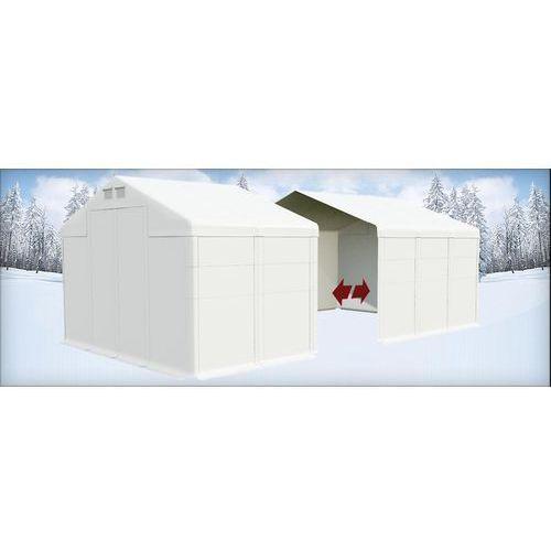 Namiot 8x20x4, Całoroczny namiot przemysłowy, POLAR PLUS/SD 160m2 - 8m x 20m x 4m