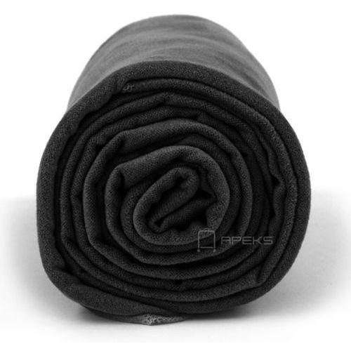 Dr.Bacty XL szybkoschnący ręcznik treningowy 70x140 cm / czarny - czarny