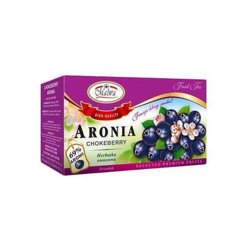 MALWA TEA HERBATA OWOCOWA ARONIA 69% 20 TB ATESTY