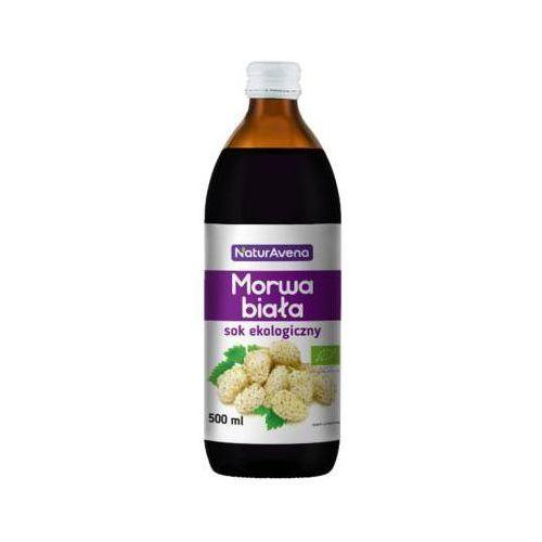500ml sok z morwy białej bez dodatku cukru bio marki Naturavena