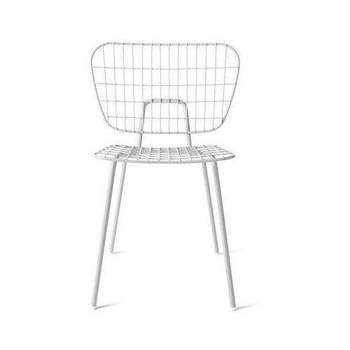 Krzesło wm string dining chair białe marki Menu