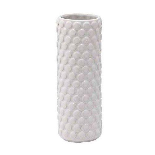 Biały wazon w skandynawskim stylu Bubble - Bloomingville z kategorii Wazony