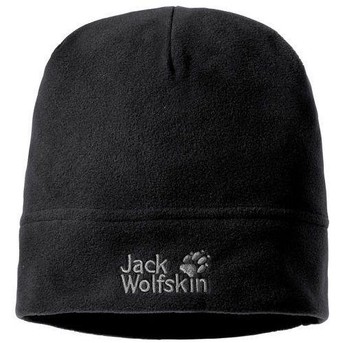 Jack wolfskin Czapka real stuff - black (4049463171854)