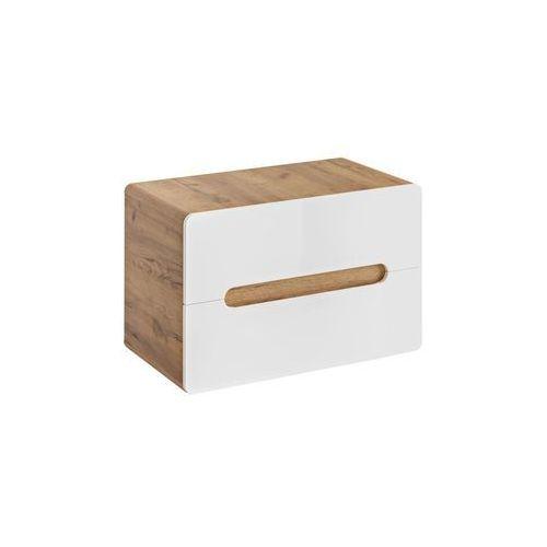 COMAD szafka Aruba 80 oak/white pod umywalkę nablatową ARUBA829-UN, ARUBA829-UN