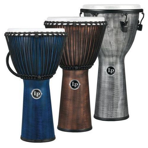 djembe world beat fx rope tuned blue marki Latin percussion