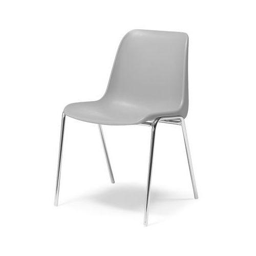 Krzesło plastikowe Sierra szary, 127115