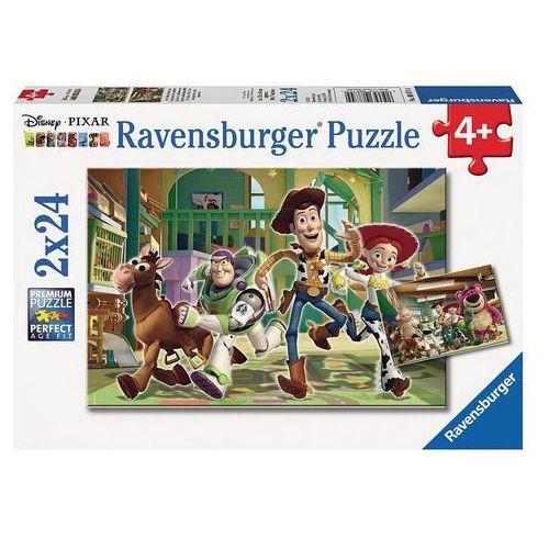 Puzzle 2x24el toy story zabawa 088744 - 4005556088744- natychmiastowa wysyłka, ponad 4000 punktów odbioru! marki Ravensburger